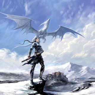 Arcane Elven Warrior in Armor - Obrázkek zdarma pro 128x128
