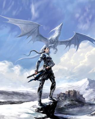 Arcane Elven Warrior in Armor - Obrázkek zdarma pro iPhone 5