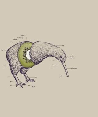 Kiwi Bird - Obrázkek zdarma pro 640x1136