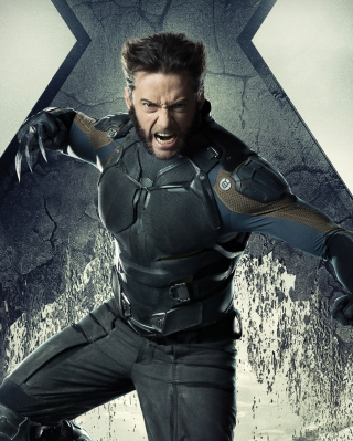 Hugh Jackman X Men Days Of Future Past - Obrázkek zdarma pro 352x416