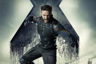 Hugh Jackman X Men Days Of Future Past - Obrázkek zdarma pro Nokia Asha 200