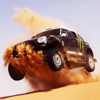 Mini Cooper Countryman Dakar Rally - Obrázkek zdarma pro iPad 2