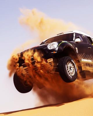 Mini Cooper Countryman Dakar Rally - Obrázkek zdarma pro Nokia X2