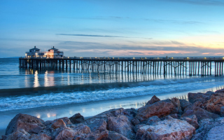 Evening In Malibu California Wallpaper for Android, iPhone and iPad
