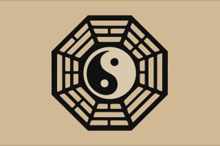 Yin Yang Symbol Picture for Android, iPhone and iPad