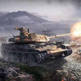World Of Tanks Battle - Obrázkek zdarma pro 128x128