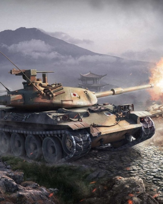 World Of Tanks Battle sfondi gratuiti per Nokia Asha 306