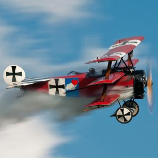 Fokker Dr I Triplane - Obrázkek zdarma pro 208x208