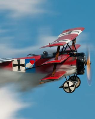 Fokker Dr I Triplane - Obrázkek zdarma pro Nokia Asha 503