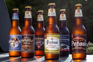 Potosi Brewery, Craft Beer Background for Android, iPhone and iPad