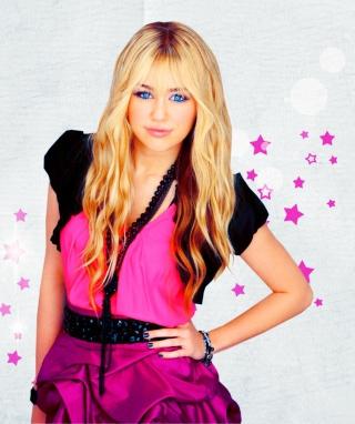 Miley Cyrus Blonde - Obrázkek zdarma pro Nokia Lumia 710