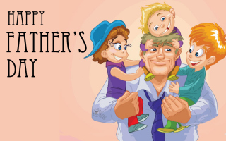 Free Happy Father's Day (June 3rd Sunday) Picture for Android, iPhone and iPad