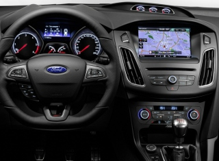 Ford Focus St 2015 Background for Android, iPhone and iPad