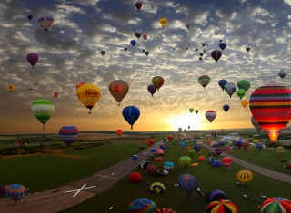 Air Balloons Picture for Android, iPhone and iPad