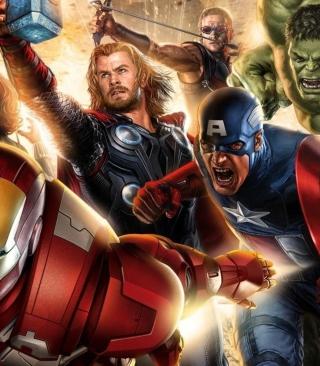 Avengers 2014 - Obrázkek zdarma pro 352x416