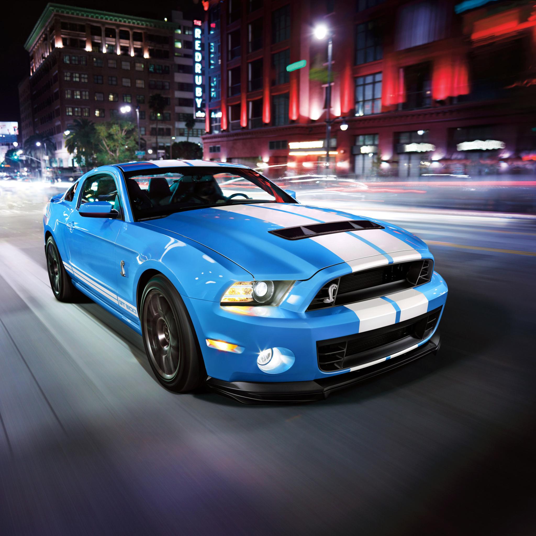 спортивный автомобиль Mustang Shelby GT500  № 2422166 бесплатно