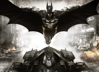 Batman: Arkham Knight sfondi gratuiti per cellulari Android, iPhone, iPad e desktop
