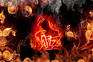 Jazz Fire HD Wallpaper for Android, iPhone and iPad