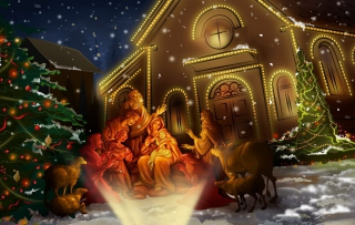 Jesus Born Picture for Android, iPhone and iPad