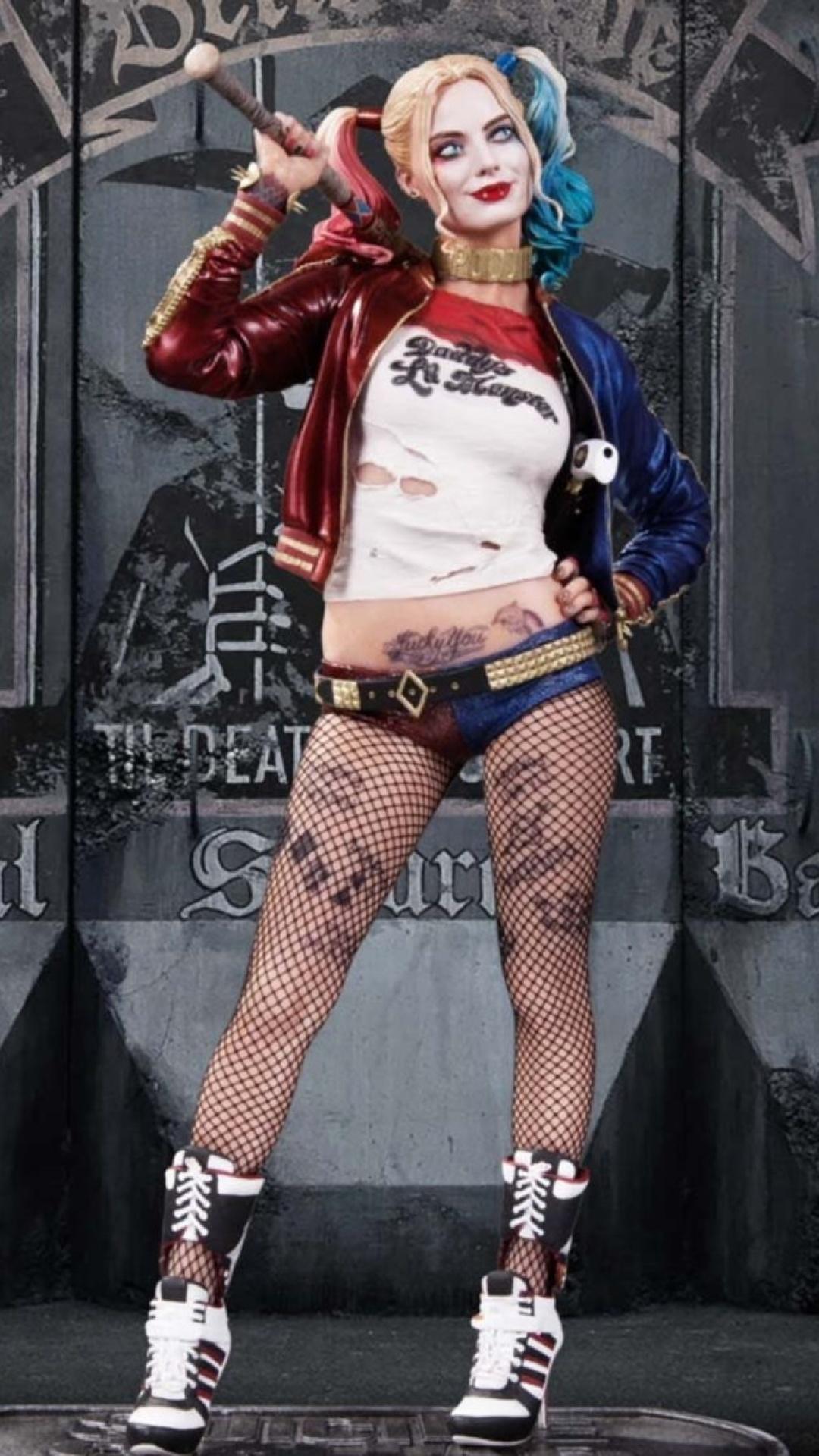 Harley Quinn Margot Robbie Poster