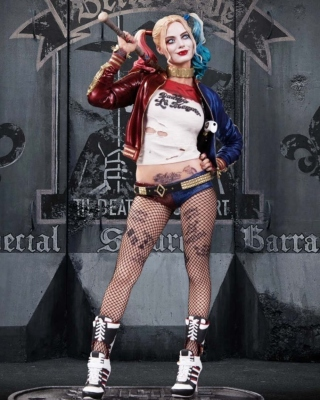 Suicide Squad, Harley Quinn, Margot Robbie Poster - Obrázkek zdarma pro 176x220