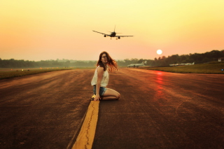 Waiting For Plane Picture for Android, iPhone and iPad