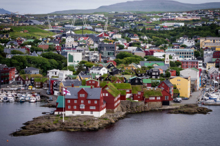 Torshavn City on Faroe Island Picture for Android, iPhone and iPad