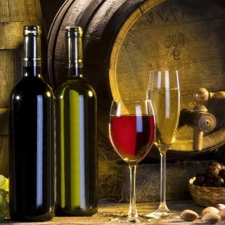 Red and White Wine - Obrázkek zdarma pro 1024x1024