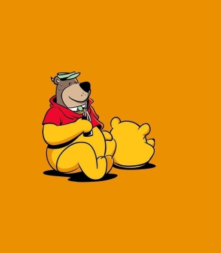I Am Winnie The Pooh - Obrázkek zdarma pro Nokia C-Series
