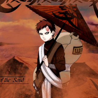Gaara, Naruto Manga - Obrázkek zdarma pro 208x208