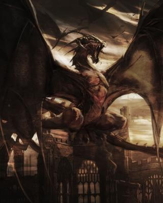 Dragon Attack - Obrázkek zdarma pro iPhone 5