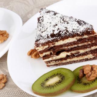 Coffee, Cake and Kiwi - Obrázkek zdarma pro 320x320