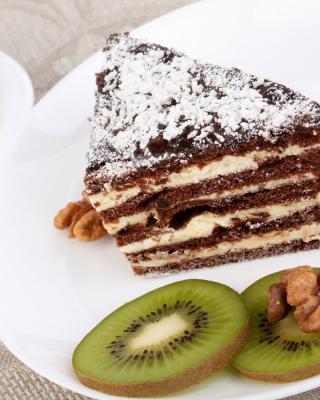 Coffee, Cake and Kiwi - Obrázkek zdarma pro 352x416