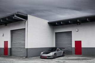 Porsche 911 Near Garage Wallpaper for Android, iPhone and iPad