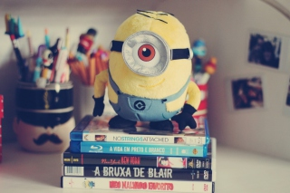 Despicable Me Minion Plush Toy Wallpaper for Android, iPhone and iPad