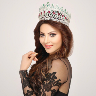 Urvashi Rautela Miss World - Obrázkek zdarma pro iPad 2