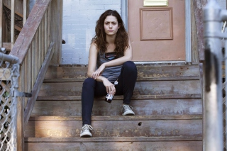 Free Shameless - Emmy Rossum As Fiona Gallagher Picture for Android, iPhone and iPad