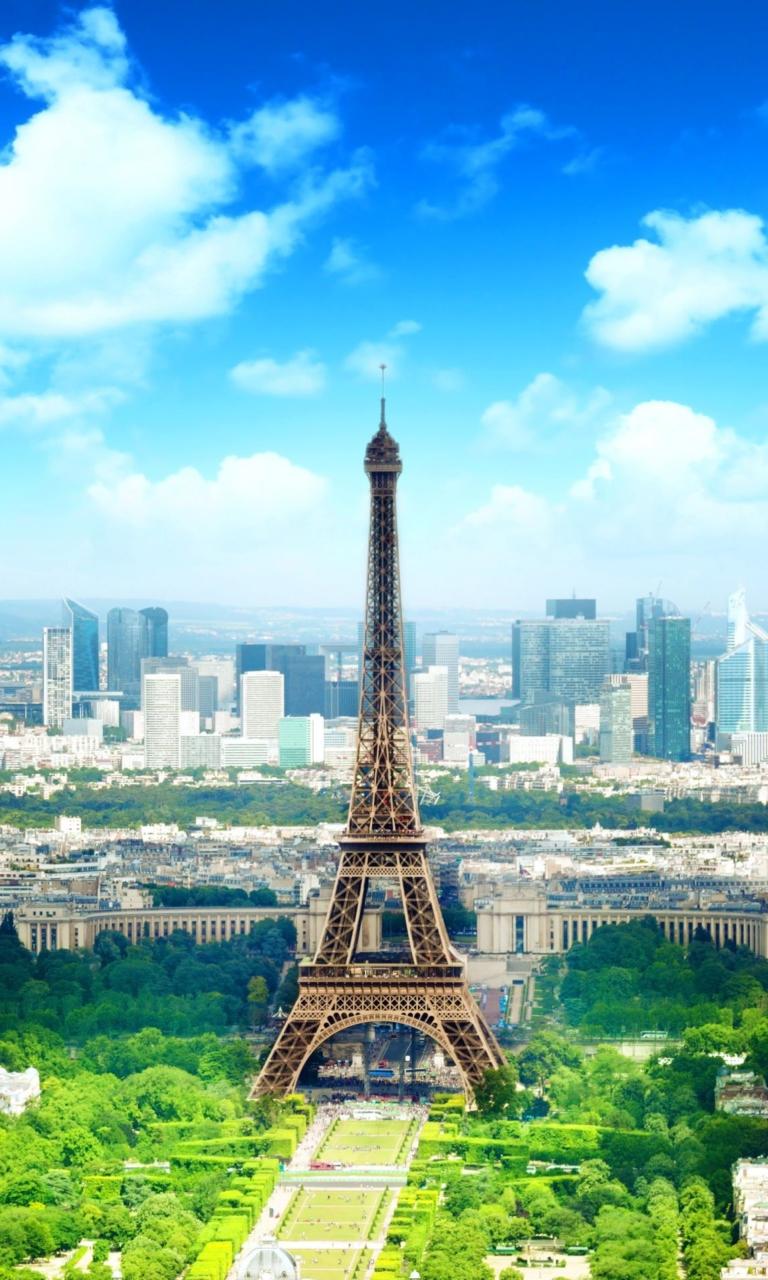 Eiffel Tower Fondos De Pantalla Gratis Para 768x1280