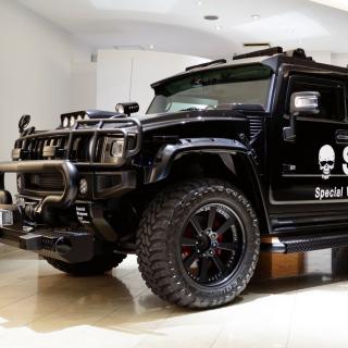 Hummer H2 for Swat - Obrázkek zdarma pro 1024x1024