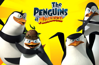 The Penguins of Madagascar - Obrázkek zdarma pro LG P500 Optimus One