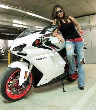 Ducati Bike Model - Obrázkek zdarma pro 480x640