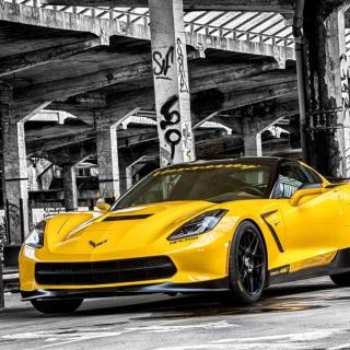 Chevrolet Corvette Stingray - Obrázkek zdarma pro iPad 2