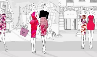 City Shopping Picture for Android, iPhone and iPad