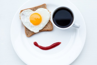 Free Happy Breakfast Picture for Android, iPhone and iPad