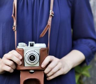Old-Fashioned Photo Camera - Obrázkek zdarma pro iPad