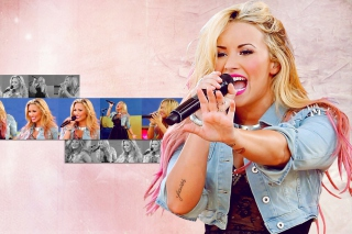Demi Lovato Singing Background for Android, iPhone and iPad