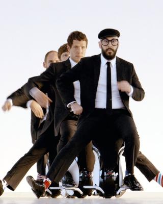OK Go American Power Pop Band - Obrázkek zdarma pro iPhone 6 Plus