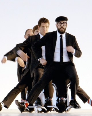 OK Go American Power Pop Band - Obrázkek zdarma pro Nokia X2-02