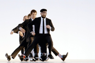 OK Go American Power Pop Band Wallpaper for Android, iPhone and iPad