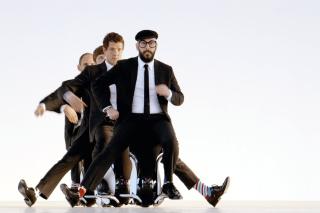 OK Go American Power Pop Band - Obrázkek zdarma pro LG P700 Optimus L7